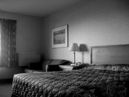 hotel room - 3 by Hermit-stock