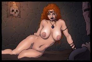Mature Witch by James-LeMay-Graphix