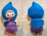 Magical Fairy Godmother - Handmade Felt Doll by ultimateduofan