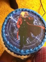 FMA cake by the-oceans-nitemare