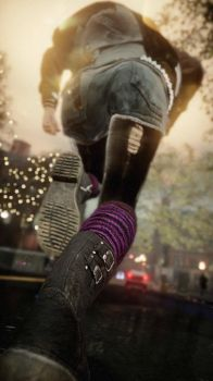 These boots were made to kick the man (inFamous) by TheShabbyCat