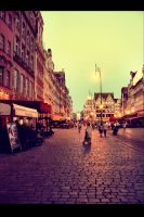 Wroclaw: Town Square by fading-memories