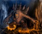 Lava Golem by Zooeel