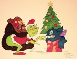 How the Grinch Tried to Steal Stitch's Christmas by DannyNicholas