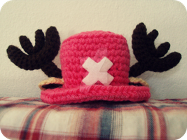 Tony Tony Chopper Hat ~~ by Nouko-chan