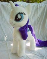 Rarity Plush by dollphinwing