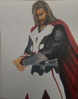 Avengers Thor by solisthe1