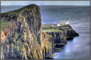 Neist Point Lighthouse by Rebacan