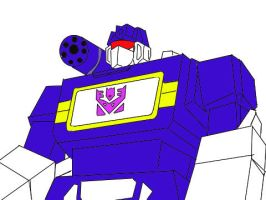 Soundwave Drawing by Klunker-Decepticon