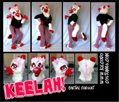 Keelah Partial Fursuit by kilcodo
