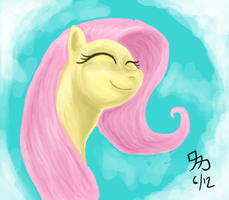 Fluttershy - Simple Joy by Wafflecannon