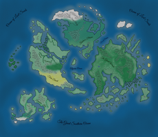 Map of Asion by ArchonofFate