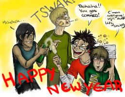 Happy Newyear - marauders by jolly2