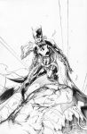 Brett Booth BatGirl Commission Inks by RyanWinn