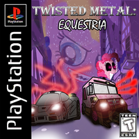 Twisted Metal: Equestria cover by Silnev