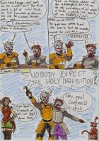 Holy Inquisition by Deorwyn