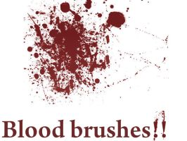 Blood brush by X-Cerberus-X