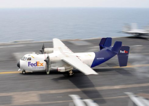 FedEx Grumman C-2 Greyhound by db120
