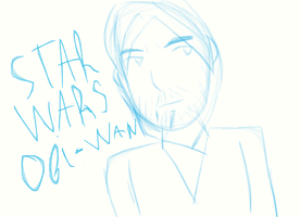 Not so good but cute doodle ~ Star Wars by Anastasia122