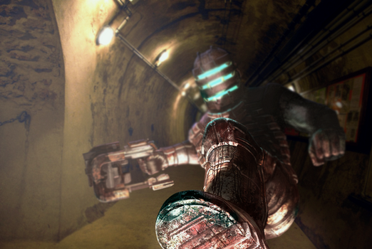 Dead Space Realism Piece by Deagz