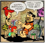 Flintstone Comic Art 1 by slappy427
