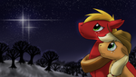 Winterfall Over The Acres by DragonwolfRooke
