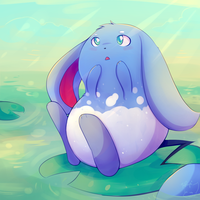 Azumarill by honrupi