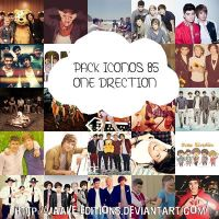 PACK ICONO ONE DIRECTION by Vaale-Editions