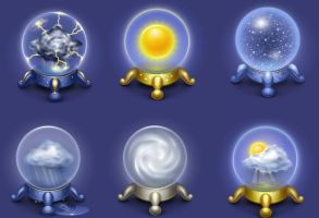 Magic Weather Icons by FreeIconsFinder