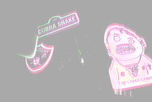 The Cobra Snake Stickers by thinminmeg