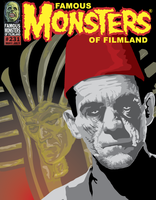 FamousMonsters_Mummy Cover by thepixelsmith