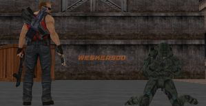 BYE BYE 2 Weapon Limit by Wesker500