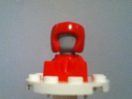 Proto Turbo Lego Minifigure by GrimmCheater