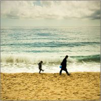 Cannes XII. - Mother and boy by kgeri