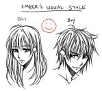 How To Draw Anime: Usual Style by ember-snow