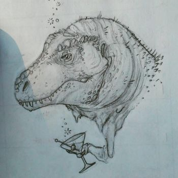Terrance the T-rex by carcaradontalicious