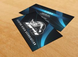 Electro Riders Biz Cards v.1 by SynergyDigital