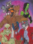Guardians of the Galaxy by Crash2014