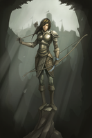 Female Archer by maxprodanov