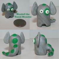 Wendell the Timid Monster by TimidMonsters