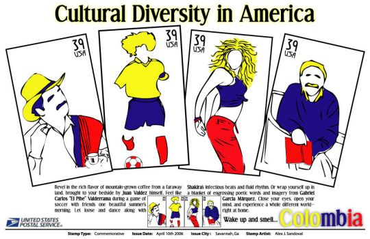 Cultural Diversity - Colombia by Apokalyptik21