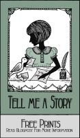 Tell me a Story - Poster 1 by PaperTales