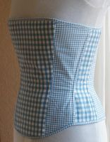 New Gingham Overbust by chasingrainbows