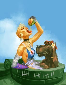 Tank Girl by Grobi-Grafik
