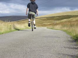 Unicycle riding by Marroon