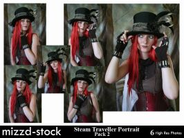Steam Traveller Portrait Pack2 by mizzd-stock