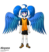 Alcyone, Take 2 (Colored) by foxhead128