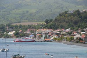 Harbor of Saint-Pierre town in Martinique by A1Z2E3R
