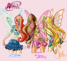 Bloom Flora et Stella Wings by Auro0109