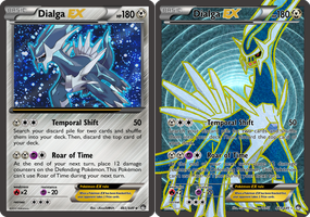 TheAlphaRanger Fake Cards: Dialga EX by TheAlphaRanger